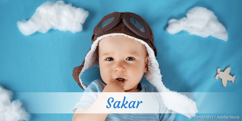 Name Sakar als Bild