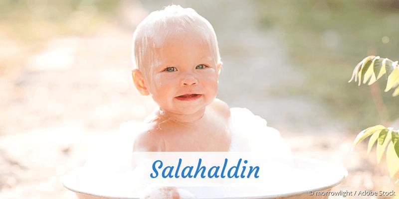 Name Salahaldin als Bild