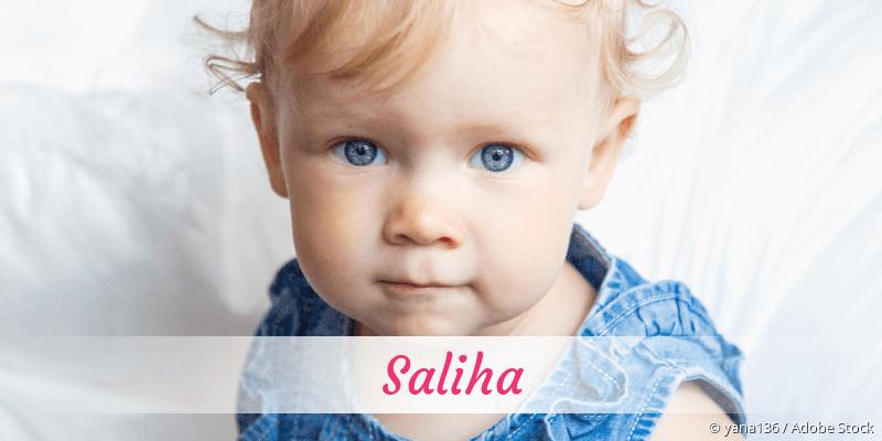 Name Saliha als Bild