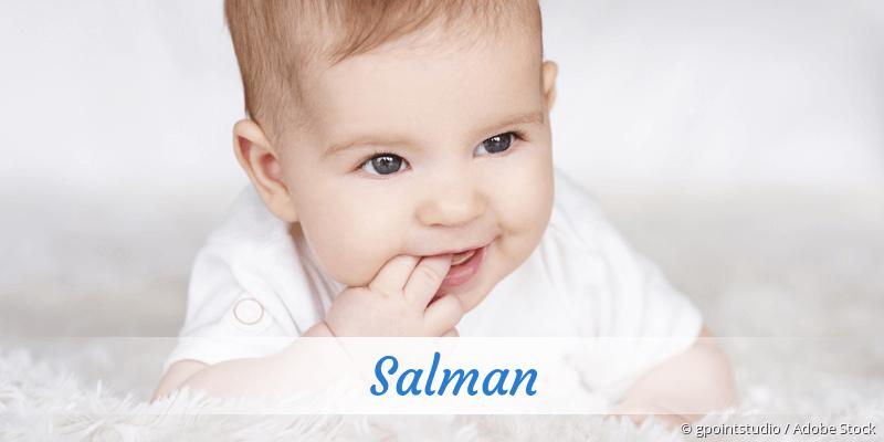 Name Salman als Bild