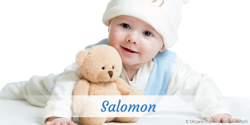 Name Salomon als Bild