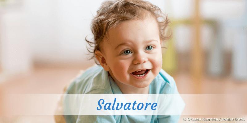 Name Salvatore als Bild