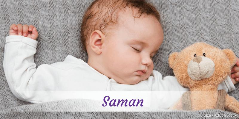 Name Saman als Bild