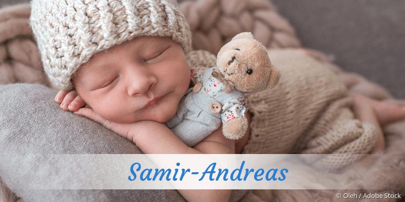 Name Samir-Andreas als Bild
