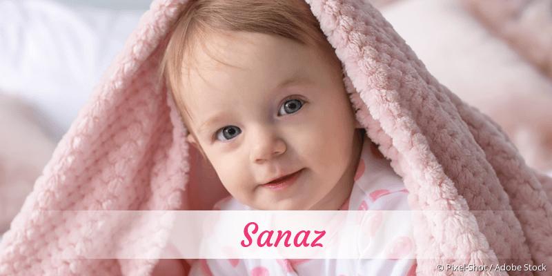 Name Sanaz als Bild