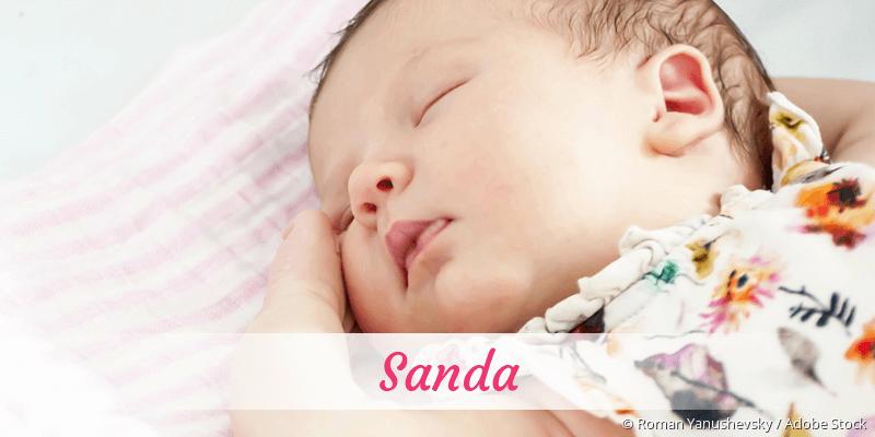 Name Sanda als Bild