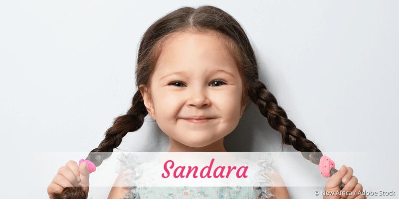 Name Sandara als Bild