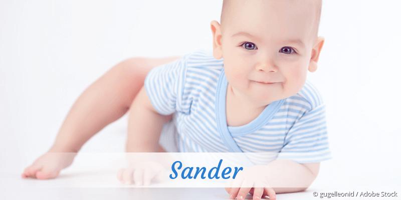 Name Sander als Bild
