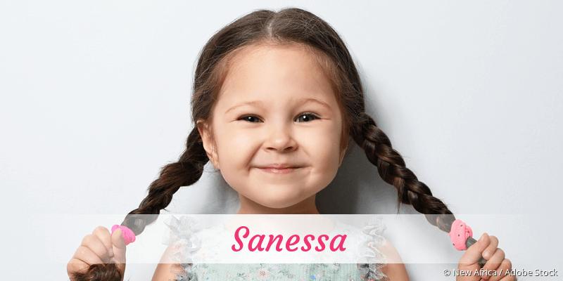 Name Sanessa als Bild