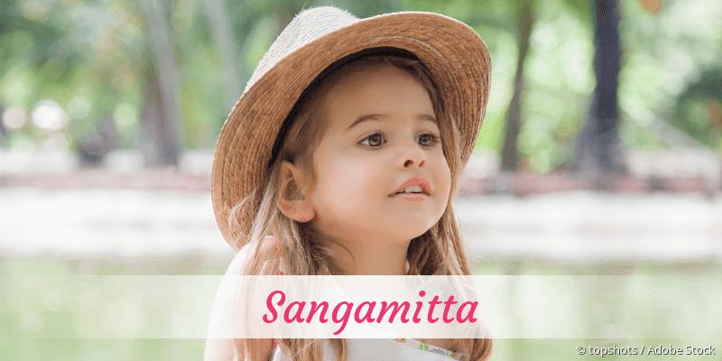 Name Sangamitta als Bild