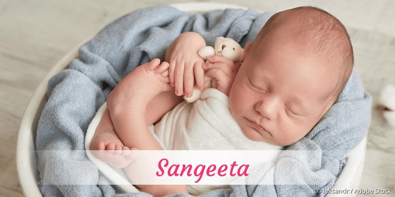 Name Sangeeta als Bild