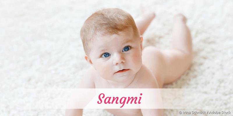 Name Sangmi als Bild
