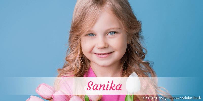 Name Sanika als Bild