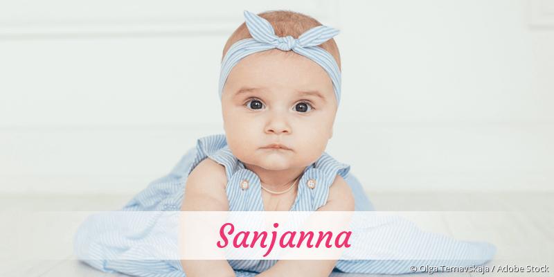 Name Sanjanna als Bild
