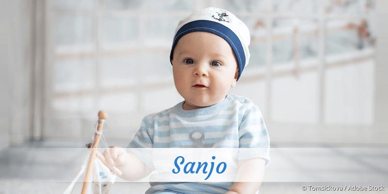 Name Sanjo als Bild