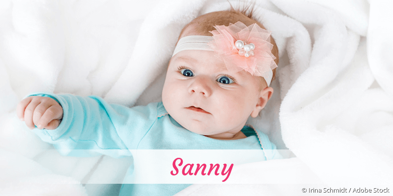 Name Sanny als Bild