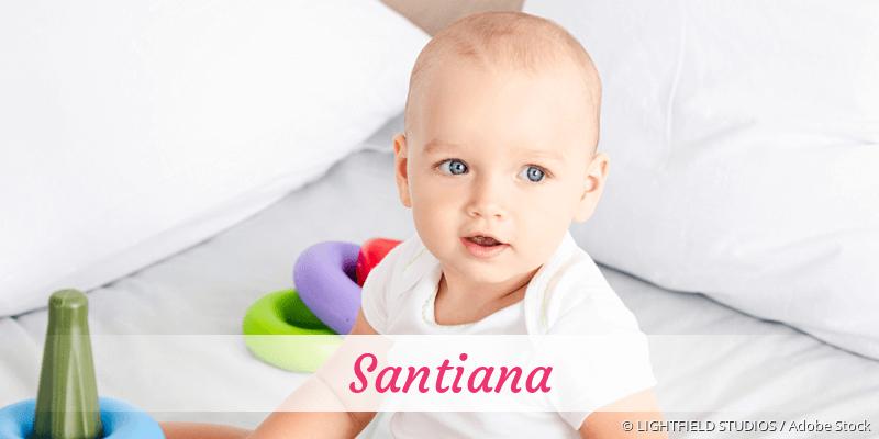 Name Santiana als Bild