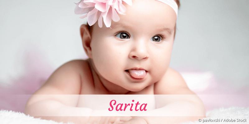Name Sarita als Bild