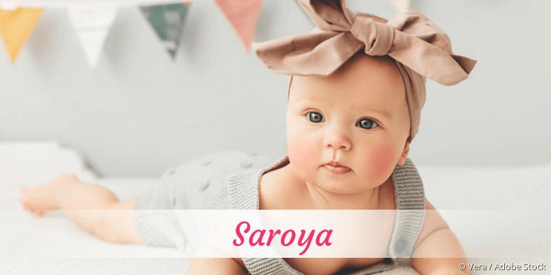 Name Saroya als Bild
