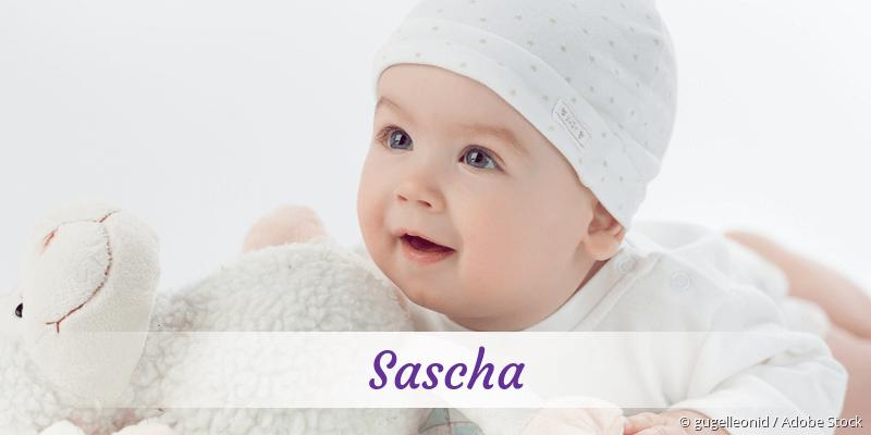 Name Sascha als Bild