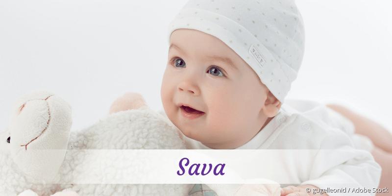 Name Sava als Bild
