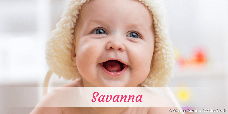 Name Savanna als Bild
