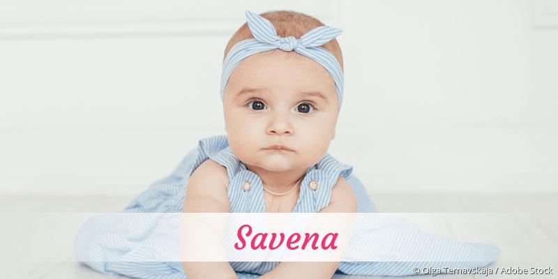 Name Savena als Bild