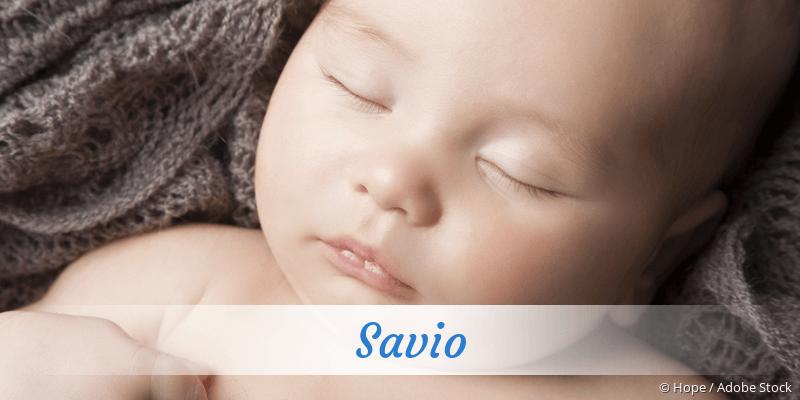 Name Savio als Bild