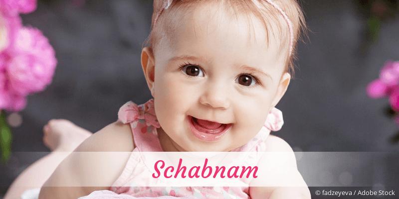 Name Schabnam als Bild