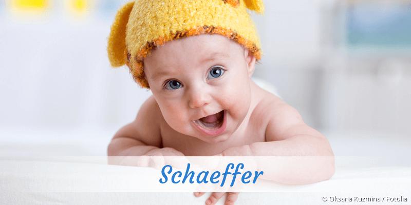 Name Schaeffer als Bild