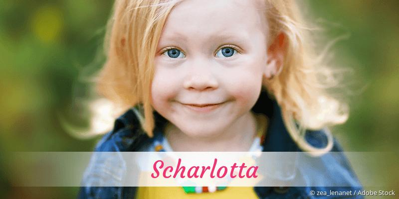 Name Scharlotta als Bild
