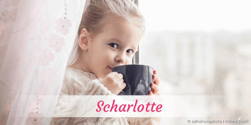 Name Scharlotte als Bild