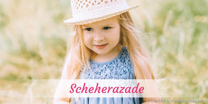 Name Scheherazade als Bild