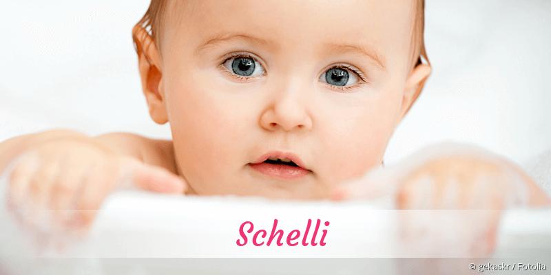 Name Schelli als Bild