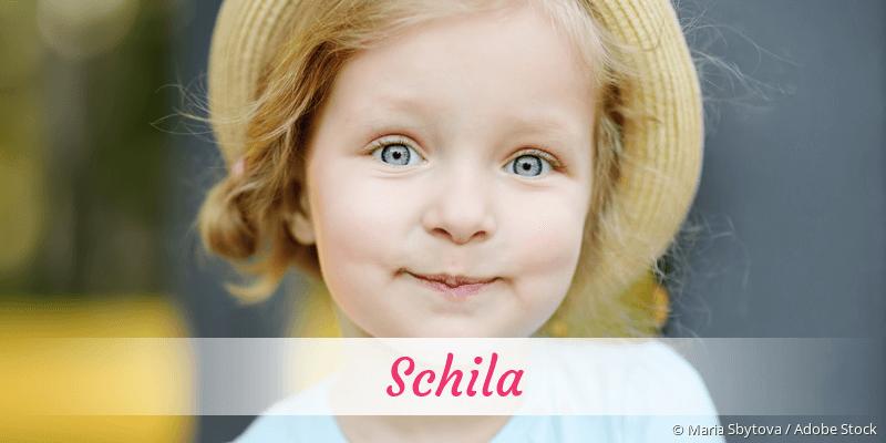 Name Schila als Bild