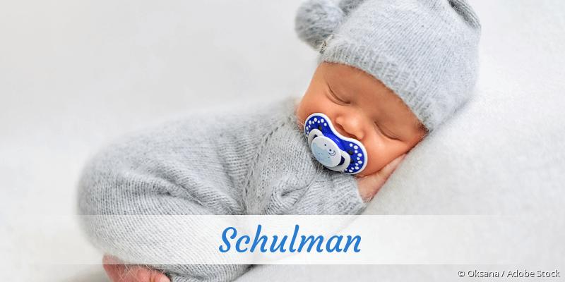 Name Schulman als Bild