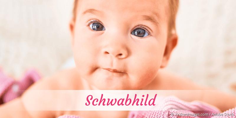 Name Schwabhild als Bild