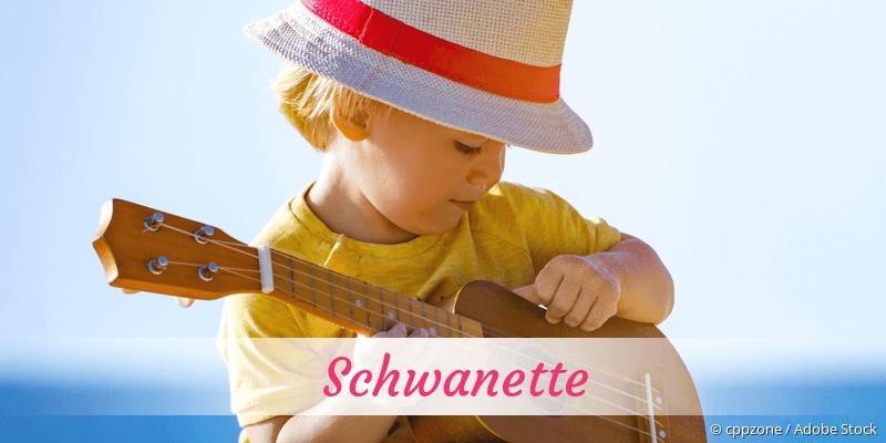 Name Schwanette als Bild