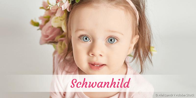 Name Schwanhild als Bild