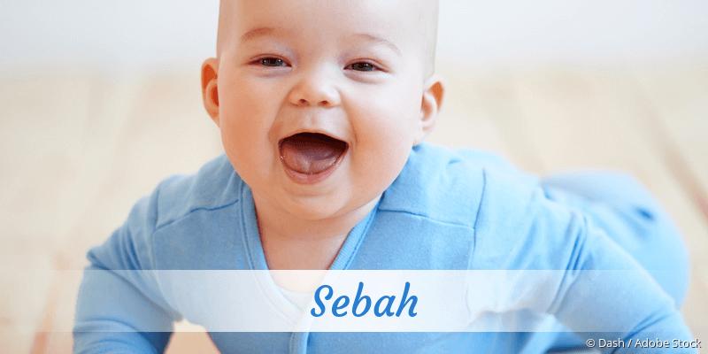 Name Sebah als Bild