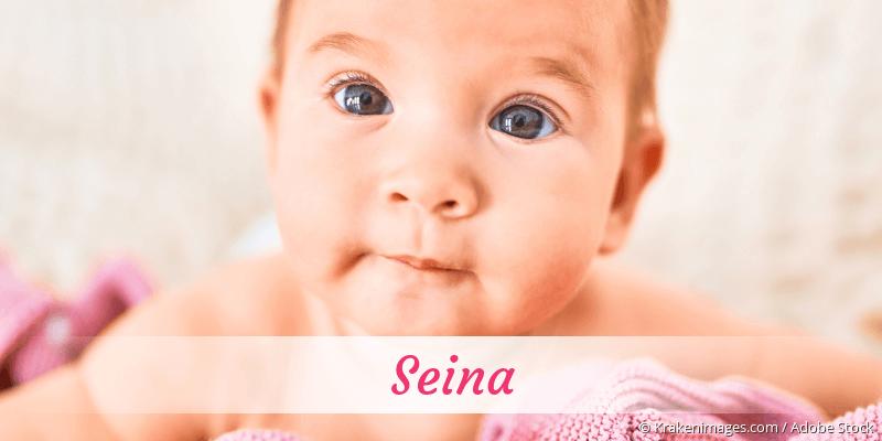 Name Seina als Bild