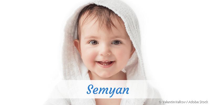 Name Semyan als Bild