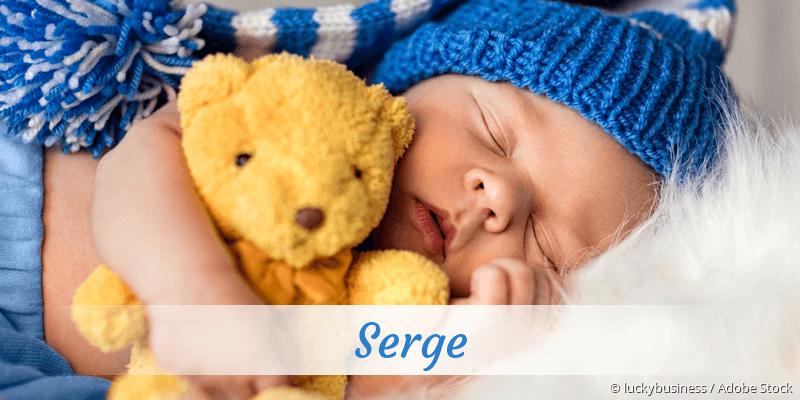 Name Serge als Bild