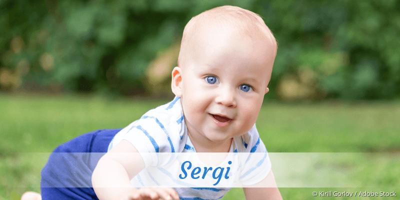 Name Sergi als Bild