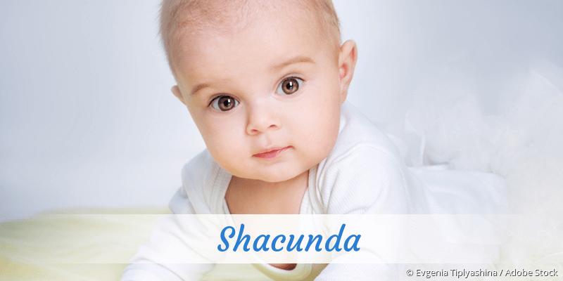 Name Shacunda als Bild