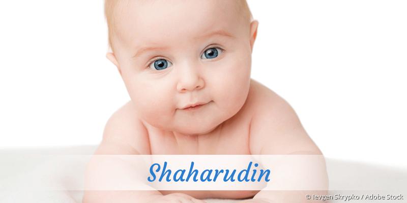 Name Shaharudin als Bild