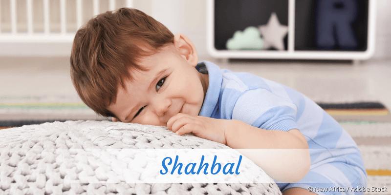 Name Shahbal als Bild