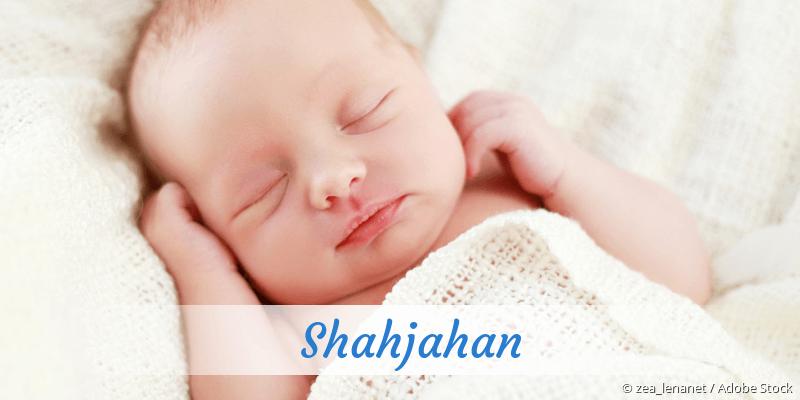 Name Shahjahan als Bild