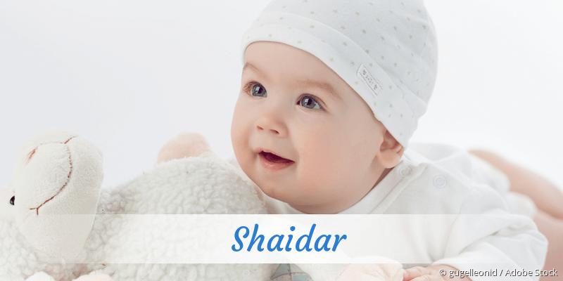 Name Shaidar als Bild