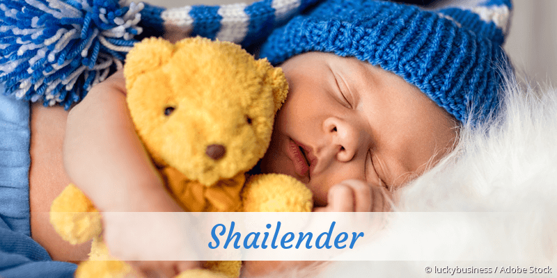 Name Shailender als Bild